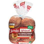 Sara Lee 100% Whole Wheat Hamburger Buns