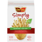 Ore-Ida Simply Olive Oil & Sea Salt Country Style French Fries