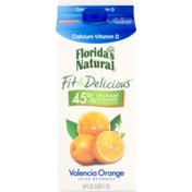 Florida's Natural Fit & Delicious Juice Beverage Valencia Orange Calcium Vitamin D