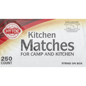 Hy Top Kitchen Matches, for Camp and Kitchen