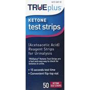TRUEplus Test Strips, Ketone