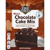 First Street Cake Mix, Chocolate, Moist