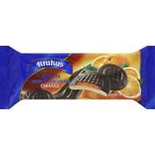 Krakus Biscuits With Chocolate Orange