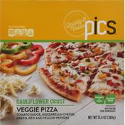 PICS Pizza, Veggie, Cauliflower Crust