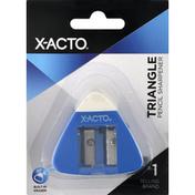 X Acto Pencil Sharpener, Triangle