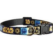 "Star Wars Logo Adjustable Dog Collar For Necks 9""-14"""