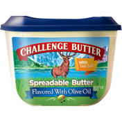 Challenge Spreadable Butter with Sea Salt