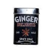 Ginger Delights Spicy Chai Delight Flavored Candy