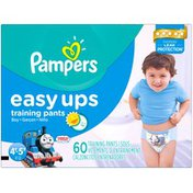 Pampers Pants Pampers Easy Ups Training Pants Boys Size 6 4T/5T 60 Count Diapers