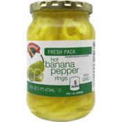 Hannaford Hot Banana Pepper Rings