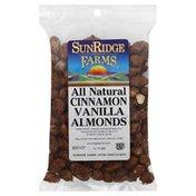SunRidge Farms Nuts, Almonds, Cinnamon & Vanilla, Bag