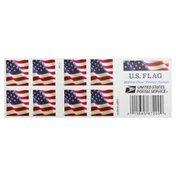 USPS Mail Stamp, US Flag