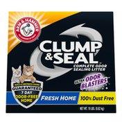 Arm & Hammer Clump & Seal Fresh Home Cat Litter