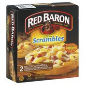 Red Baron Scrambles, Biscuit-Style, Bacon