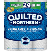 Quilted Northern Bathroom Tissue, Ultra Soft & Strong, 2-Ply, Unscented