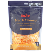 Hy-Vee Mac & Cheese A Blend Of Cheddar, American And Swiss Shredded Cheeses