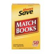 Always Save Match Books