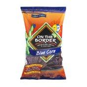 On The Border Blue Corn Tortilla Chips