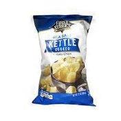 First Street Sea Salt Kettle Cooked Potato Chips