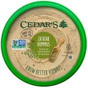 Cedar's Foods Za'atar Hommus