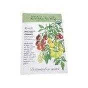Botanical Interests Organic Red & Yellow Pear Cherry Tomato