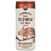 Chameleon Organic Dark Chocolate Flavored Oat Milk Latte Cold Brew Coffee