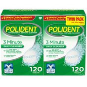 Polident 3 Minute Denture Cleanser Tablets, 3 Minute Denture Cleanser Tablets
