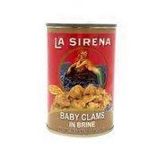 La Sirena Baby Clams In Brine
