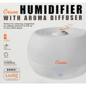 Crane Humidifier, With Aroma Diffuser, Cool Mist, Personal