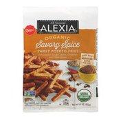 Alexia Organic Sweet Potato Fries Savory Spice