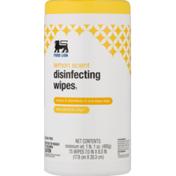 Food Lion Lemon Scented Disinfecting Wipes