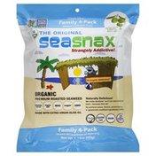 SeaSnax Roasted Seaweed Snack, Original, Bag