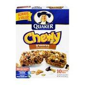 Quaker Granola Bars, Low Fat, S'mores
