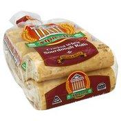 Alpicella Bread, Wheat Sourdough Rolls, Cracked