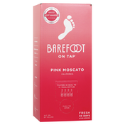 Barefoot On Tap Pink Moscato Box Wine