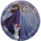 Unique Plates, Disney Frozen II, 6-3/4 Inch