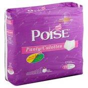 Poise Panties, S/M, Heavy