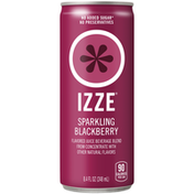 Izze Blackberry Flavored Beverage