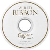 Caspari Ribbon, Marine Blue and White, Wired