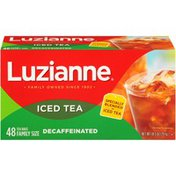 Luzianne Decaffeinated Special Blend Iced Tea, Family Size Tea Bags