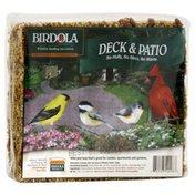 Birdola Feed Cake, Deck & Patio