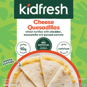 Kidfresh Cheese Quesadillas