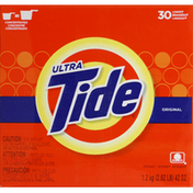 Tide Laundry Detergent, Concentrated, Original