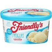 Friendly's Vanilla Frozen Yogurt