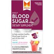 Meta Biotic Blood Sugar Meta Daily Blood Sugar Support Powder Dietary Supplement 30ct Packets Pink Lemonade Laxative
