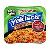 Maruchan Yakisoba, Tomato & Basil Flavor