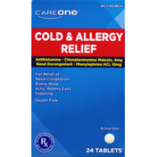 CareOne Cold & Allergy Relief