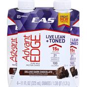 EAS Protein Shake, Pure Milk, Deluxe Dark Chocolate
