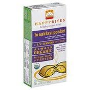 Happy Bites Organic Meals, Healthy, Breakfast Pocket