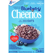 Cheerios Oat Cereal, Whole Grain, Sweetened, Blueberry